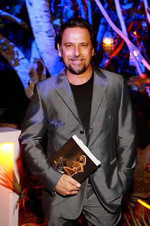 Sante D'Orazio Book Launch Party at the W in Miami Beach