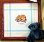 Sleeping Kitty by Ursula Michael (Pitter Patter #7) (demo image from Jeanette Crews Designs)