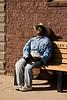 Cowboy Scarecrow Dummy, Ackley, Iowa