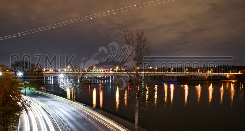 DC Night Series - December 2012<br /> ohio drive/potomac river south view