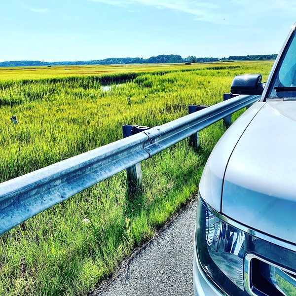 Entering Assateague Island