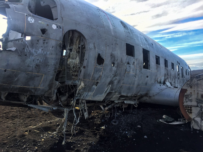 Sólheimasandur DC 3 Plane Crash