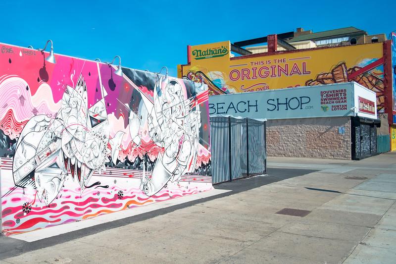 Art, Nathan's & The Beach Shop