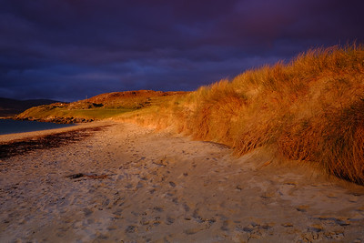 Sunset on Harris Dunes