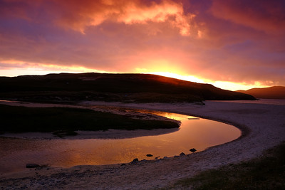 Harris Sunset