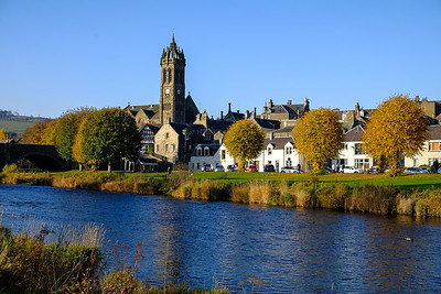 Peebles in Autumn