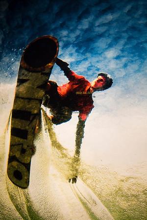 snowbaord waterslide 2199