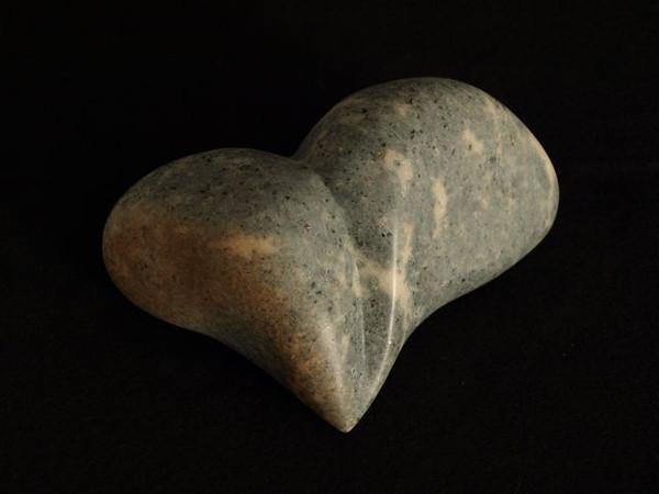 Soapstone heart.