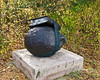 Listening to History 02<br /> Bill Woodrow (British, b. 1948), bronze, 1995; cast 2001<br /> .<br /> Frederik Meijer Gardens and Sculpture Park<br /> Grand Rapids, Michigan<br /> October 16, 2012
