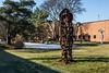 D333-2013  Unattributed public art<br /> <br /> Campus, UM Dearborn, Deaborn, Michigan<br /> November 29, 2013