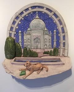 """""""Taj""""  Glazed stonerware 1987"""