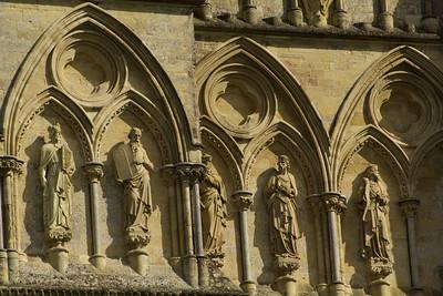 Frieze on Salisbury Cathedral
