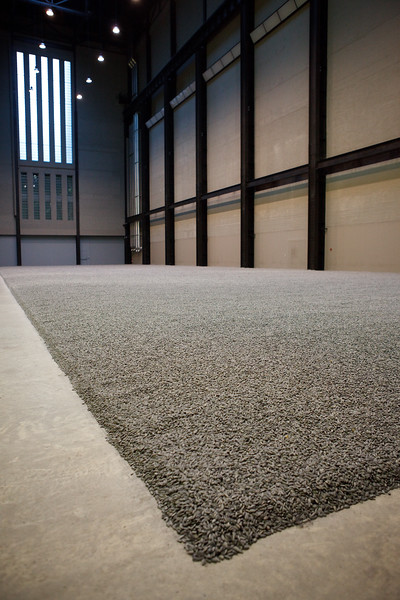 "Ai Weiwei, ""Sunflower seeds"", Tate Modern, Jan 2011"