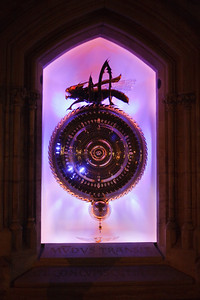 Corpus Christi College Chronophage Clock - info here