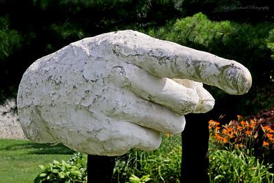 Sculpture at Adelphi University.