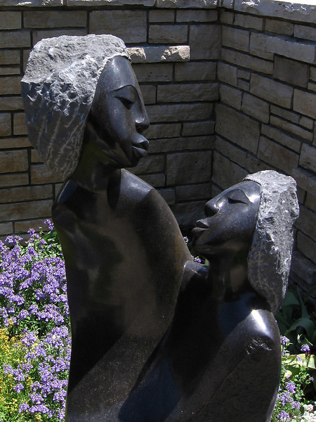 One of the sculptures that we saw at Powell Gardens on Becky's birthday.