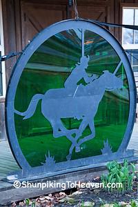 Pony Express Sculpture, St. Joseph, Missouri