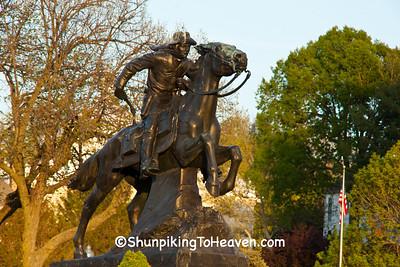 Pony Express Statue, St. Joseph, Missouri