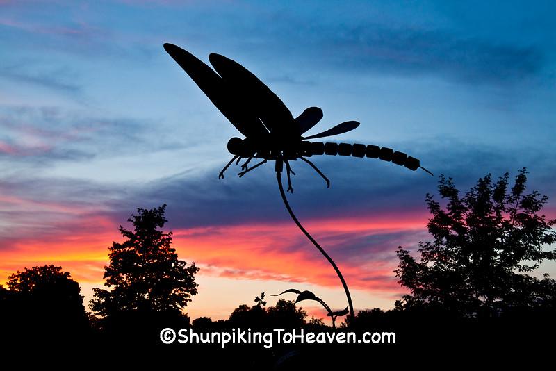 Labyrinth Garden Earth Sculpture, West Bend, Wisconsin