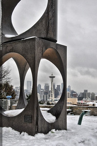My first attempt at Kerry Park photo's.  Rough but I like it. Photo by Jared Rogers