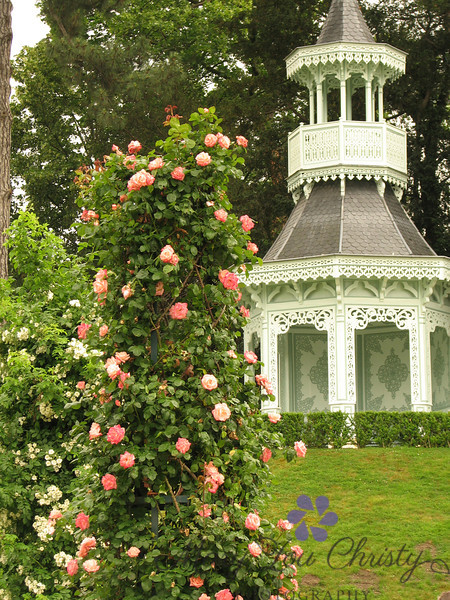 Bagatelle Gardens in Paris, France