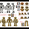 Cody the Robosapien Robosapien Rebooted: Main character Robot Design and Art Direction.