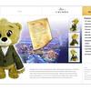 Bear Crimbo Plush Product Design.