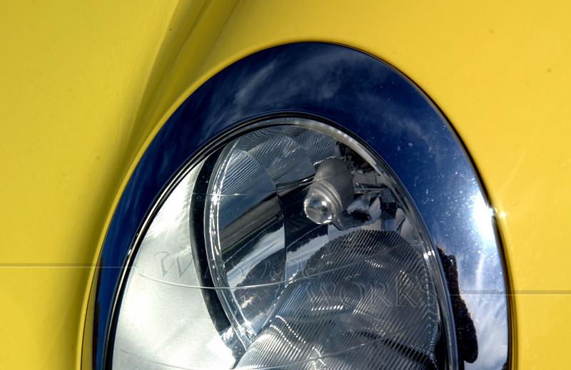 Headlamp of a Mini Cooper
