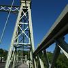 Riegelsville bridge across Delaware, designed by Roebling (seen from Riegelsville, PA... looking towards Riegelsville, NJ)