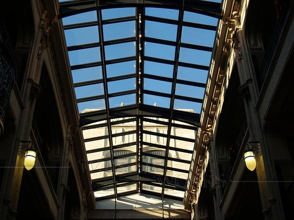Inside the Grove Arcade; Asheville, North Carolina
