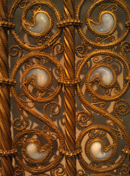 Part of a balustrade made by Louis Comfort Tiffany c. 1890, for the Henry O. Havemeyer house