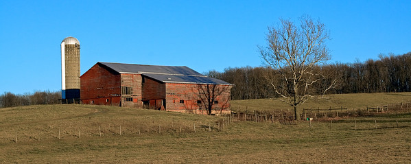 Barn near Newport, Virginia  (8 x 20)
