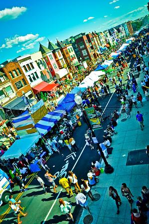 Adams Morgan Day Rooftop - 2012