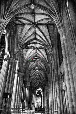 National Cathedral Hallway - 2012