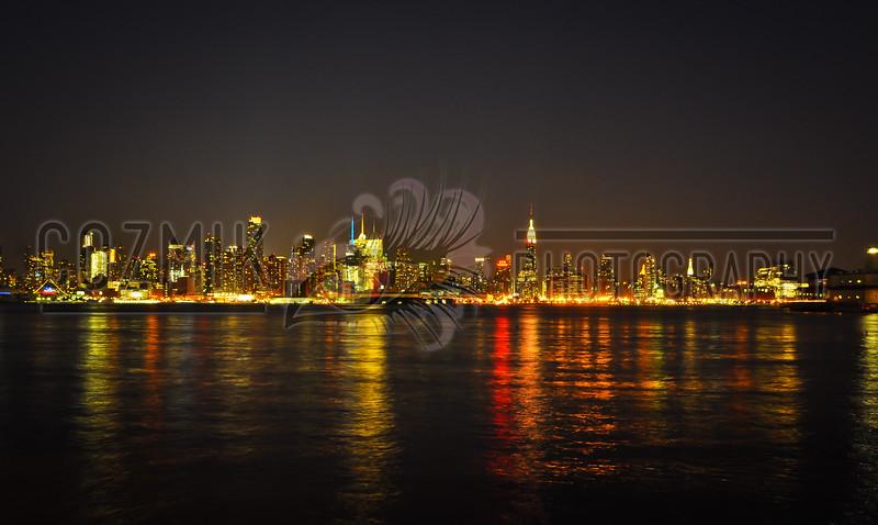 NYC Skyline - 2012