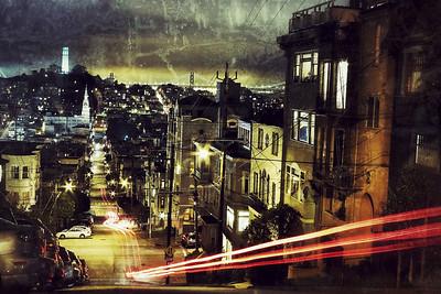 Filbert Hill, San Francisco, February 2012