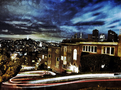 Lombard Swirl, San Francisco 2013
