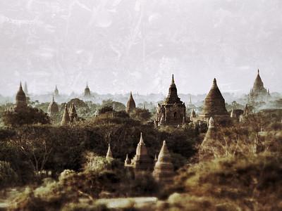 Bagan, Burma. January 2010