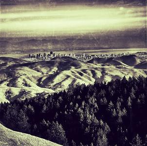 San Francisco from Mt. Tamalpais, 2012
