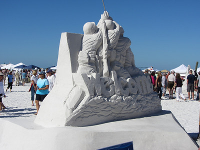 Siesta Key Sand Sculpture