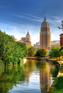 Along the River in San Antonio