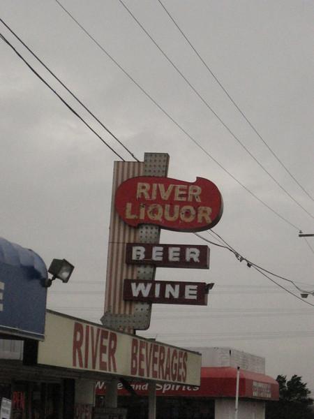 Liquor store on Hwy 438 in Dallas.