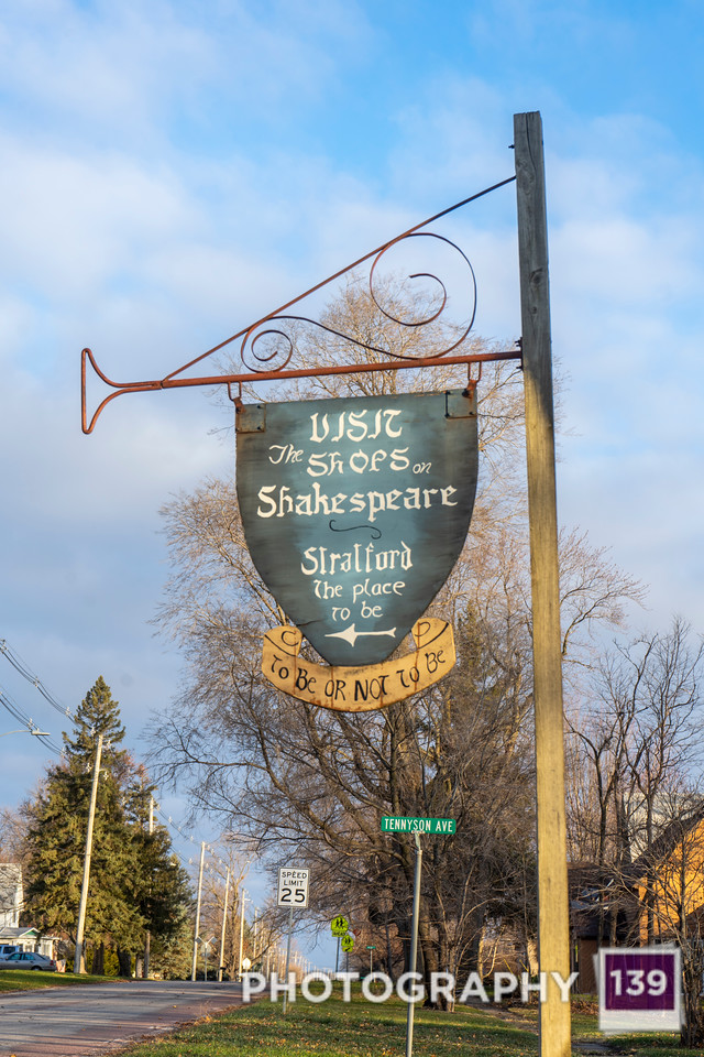 Stratford Town Sign Auxiliary