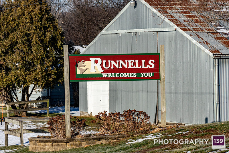 Runnells - Town Sign Project Alternate