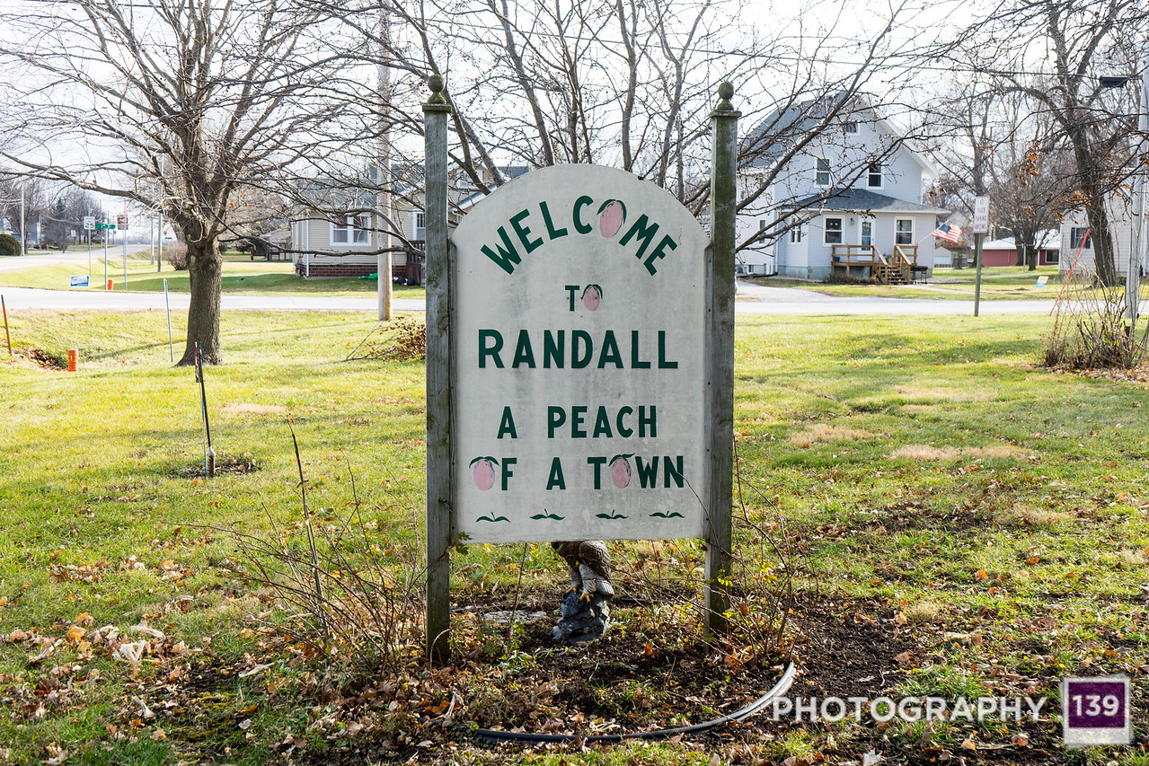 Randall Town Sign Auxiliary