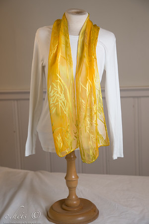 "8"" x 54"" burn out (silk/rayon)  $42"