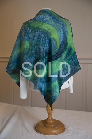 "36"" x 36"" china silk $35"