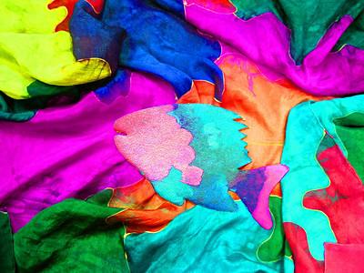 Aquamarine giclee on canvas $200 on paper $120