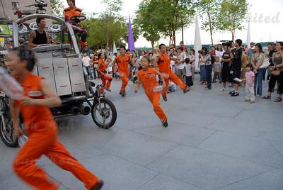 "Singapore Esplanade Waterfront, Noridan (South Korea) presents ""Sprock at Parade""."