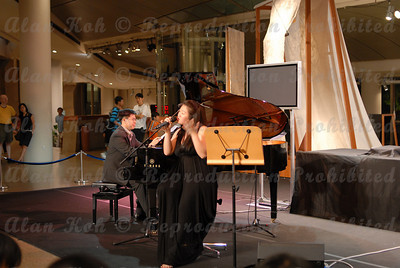 Singapore Esplanade Concourse, Singin' A Different Tune by Celine Rosa Tan